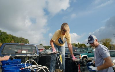 Oyster Cage Maintenance 5-7-18 to 5-13-18